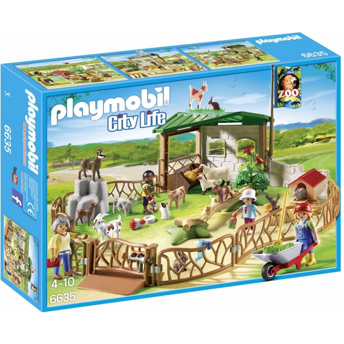 Playmobil 6635 Koutek domácích zvířat