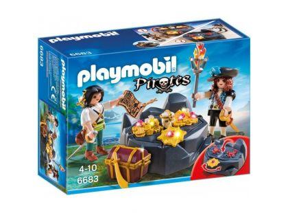Playmobil 6683 Pirátská skrýš