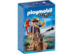 Playmobil 6684 Kapitán pirátů