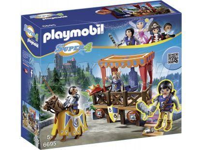 Playmobil 6695 Královská tribuna s Alexem