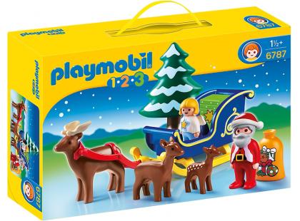 Playmobil 6787 Santa Claus na saních
