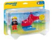 PLAYMOBIL 6789 Požární helikoptéra - Poškozený obal