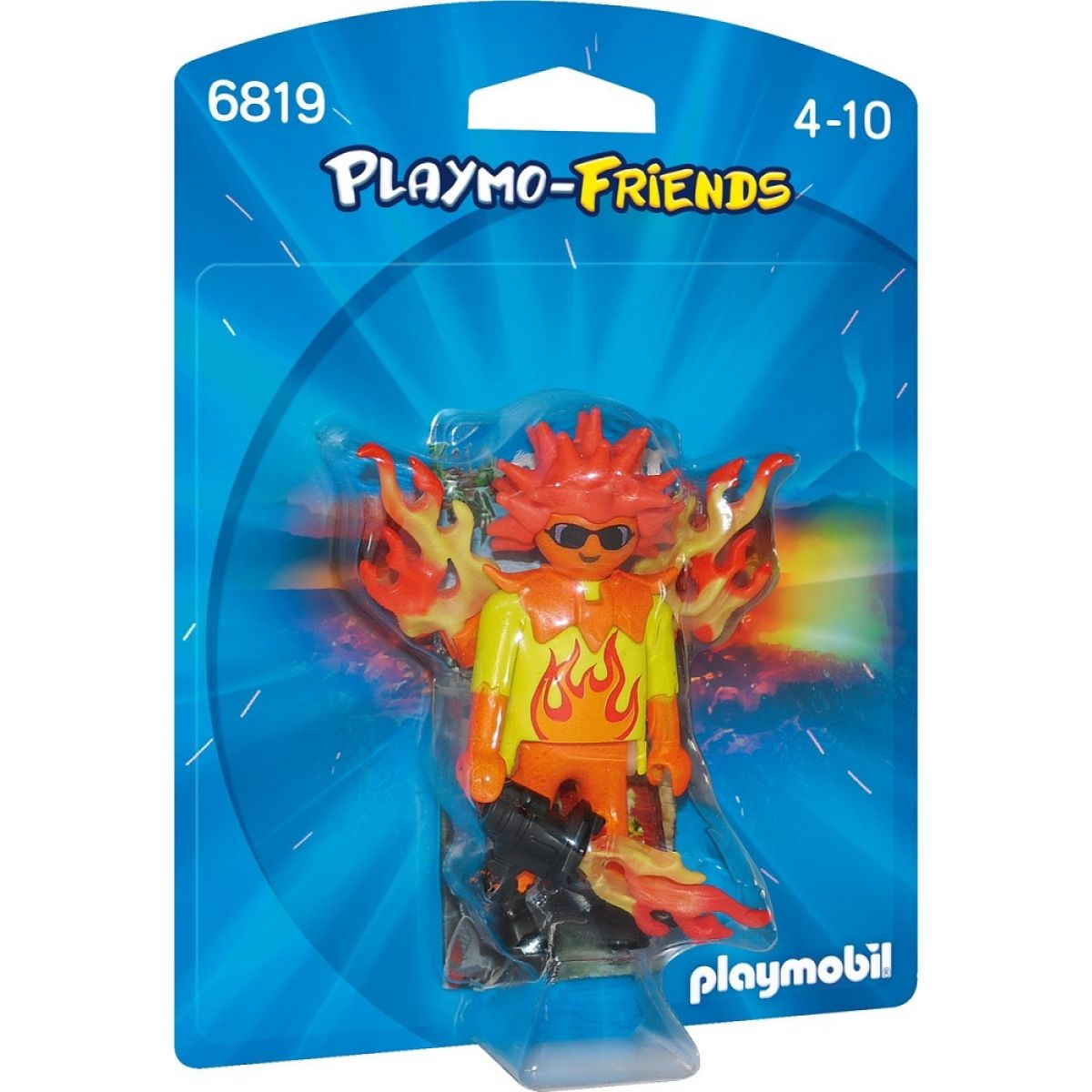 Playmobil 6819 Ohnivý bojovník