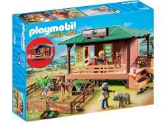 Playmobil 6936 Dům strážce parku s ošetřovnou zvířat