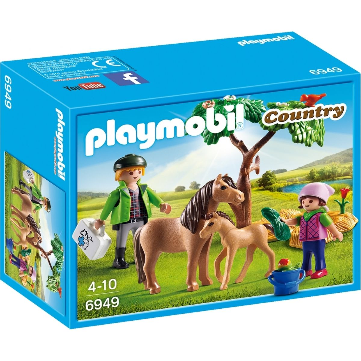 Playmobil 6949 Poník s hříbětem