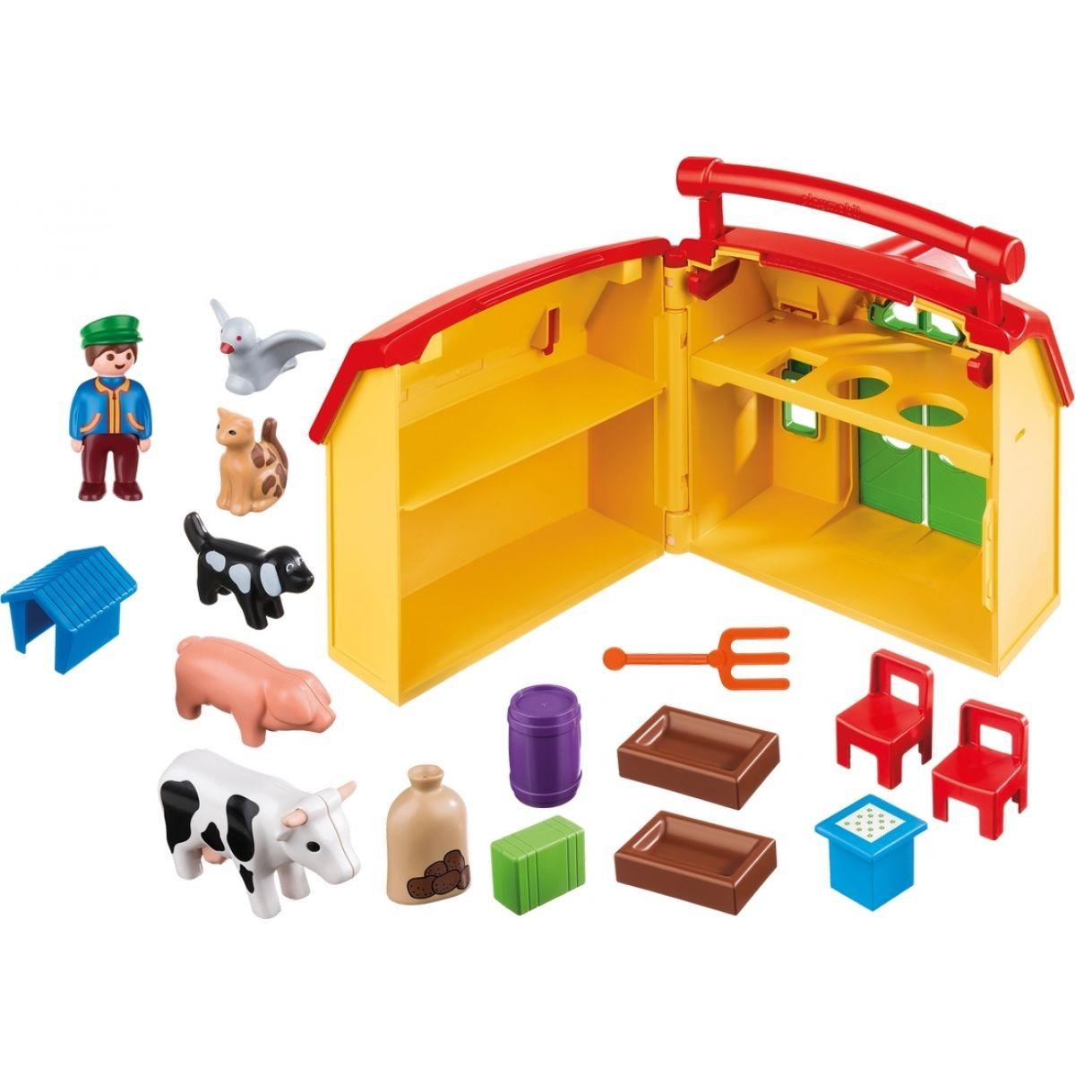 PLAYMOBIL® 6962 Moje první přenosná farma