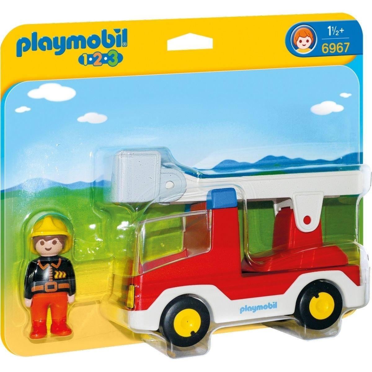 Playmobil 6967 Hasičské auto - Poškozený obal