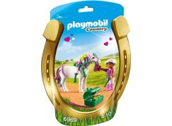 Playmobil 6969 Zdobení poníků Srdíčko
