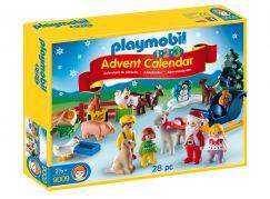 Playmobil 9009 Adventní kalendář Vánoce na statku