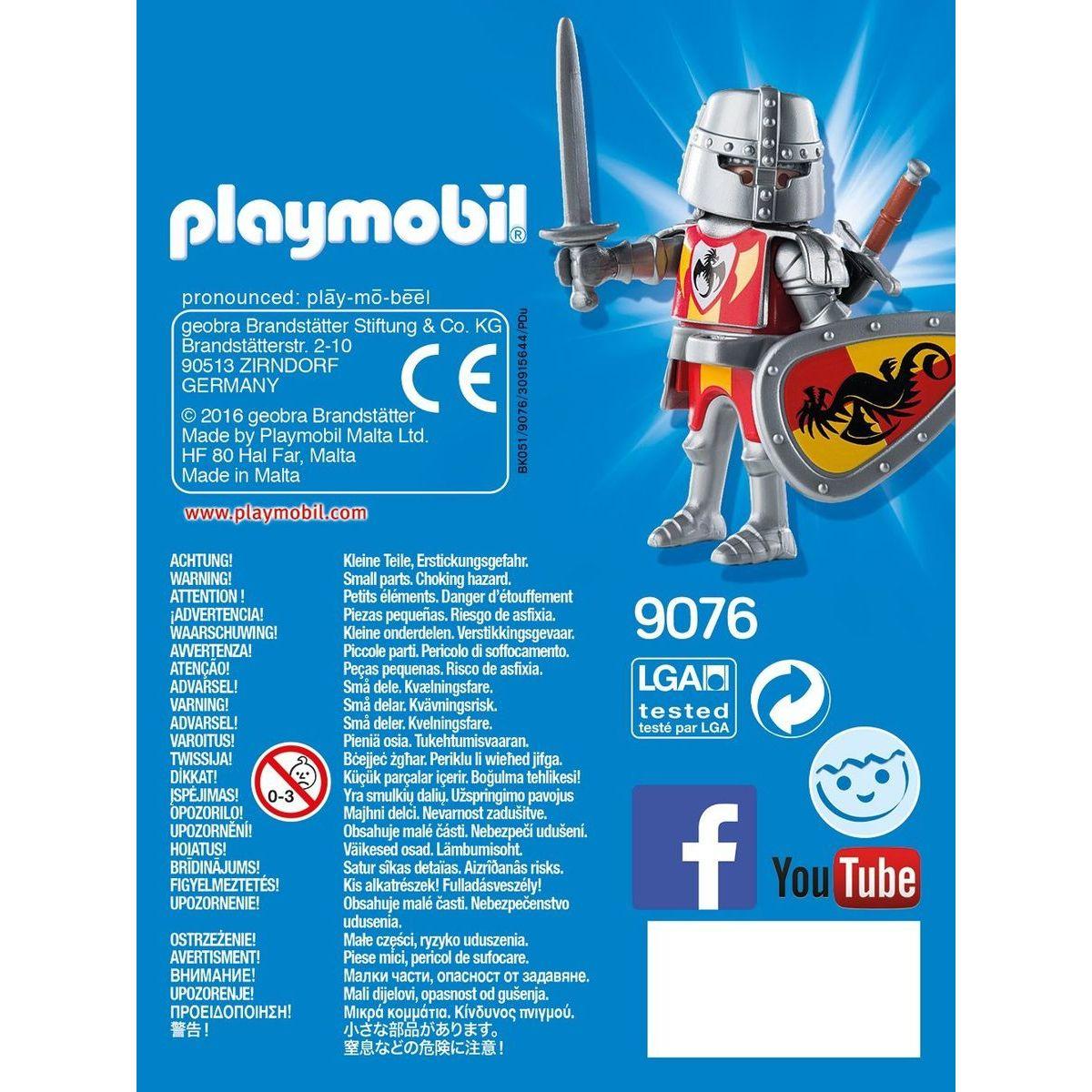 Playmobil 9076 Dračí rytíř #3