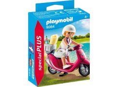 Playmobil 9084 Dívka na pláži se skútrem