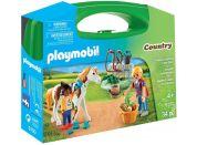 Playmobil 9100 Přenosný box Péče o koně