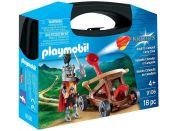 Playmobil 9106 Přenosný box Rytíř s katapultem