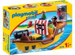 Playmobil 9118 Pirátská loď