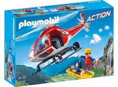 Playmobil 9127 Helikoptéra horských záchranářů