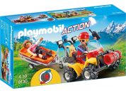 Playmobil 9130 Čtyřkolka záchranářů