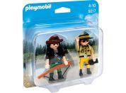 Playmobil 9217 Duo Pack Správce parku a pytlák