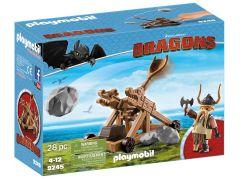 Playmobil 9245 Tlamoun s katapultem
