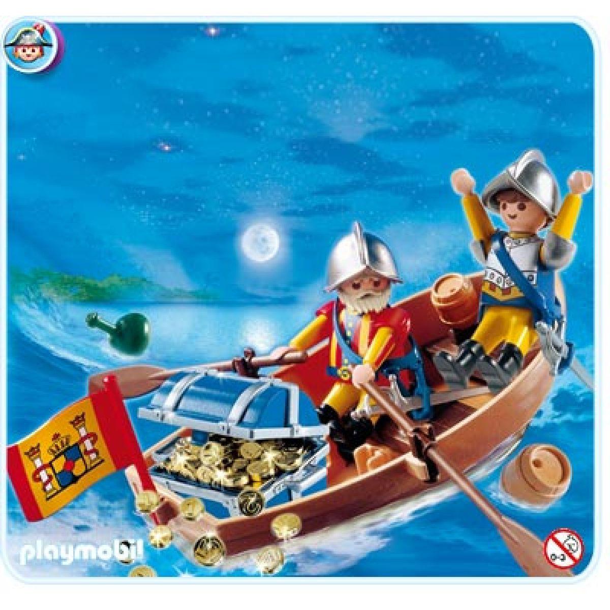 Playmobil Převoz pokladu