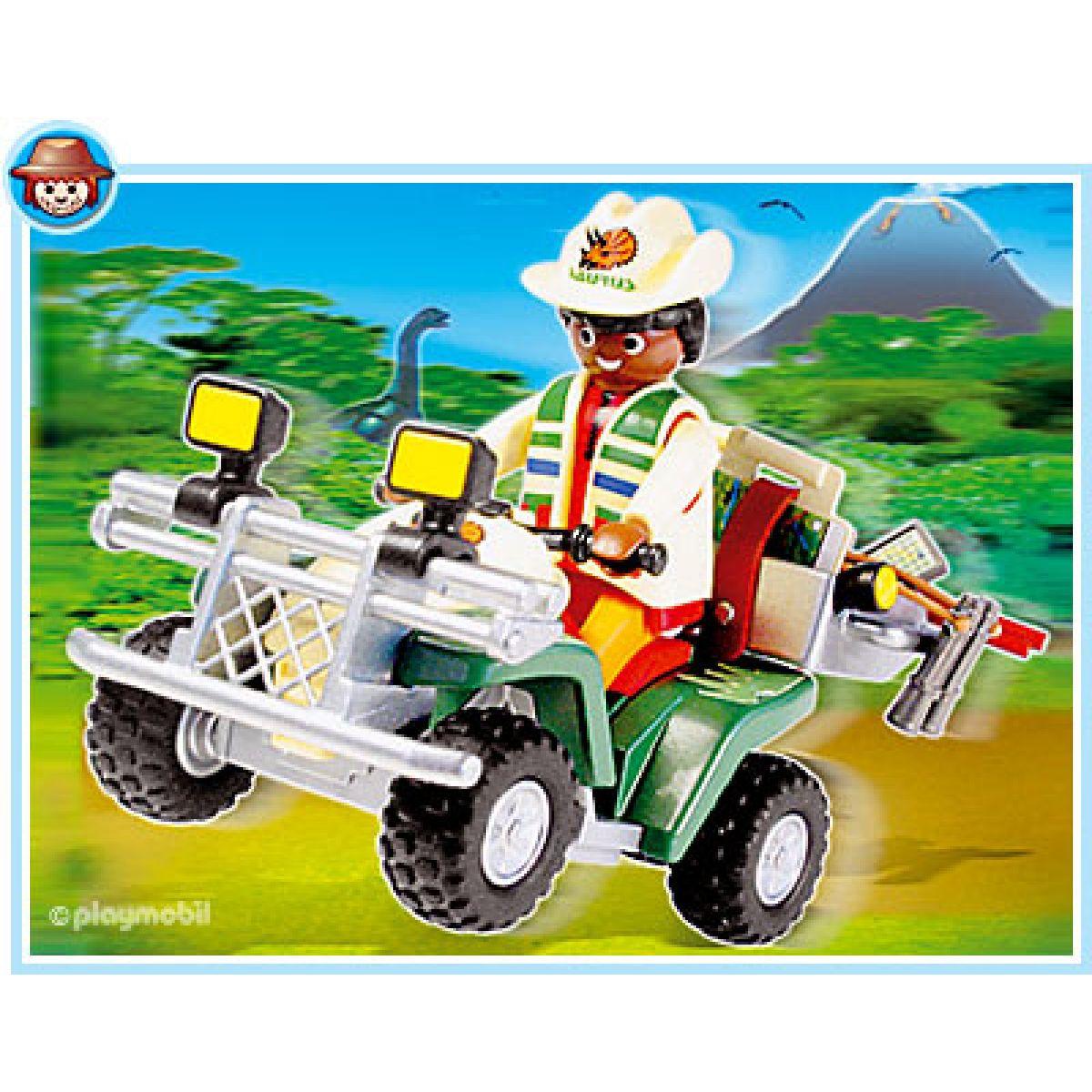 Playmobil Průzkumná čtyřkolka