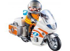 PLAYMOBIL® 70051 Záchranářský motocykl