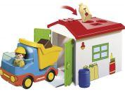 PLAYMOBIL® 70184 Vyklápěcí auto s garáží