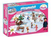 PLAYMOBIL® 70260 Adventní kalendář Heidin zimní svět