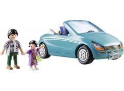 PLAYMOBIL® 70285 Tatínek s dítětem a kabrioletem