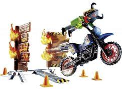 PLAYMOBIL® 70553 Kaskadérská show Motorka s ohnivou stěnou