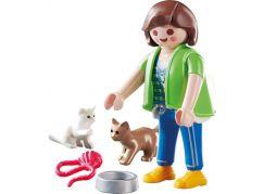 PLAYMOBIL® 70562 Paní s koťátky