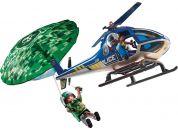 PLAYMOBIL® 70569 Policejní vrtulník Pronásledování padáku