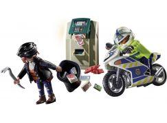 PLAYMOBIL® 70572 Policejní motorka Pronásledování lupiče