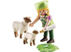 PLAYMOBIL® 9356 Farmářka s ovečkami