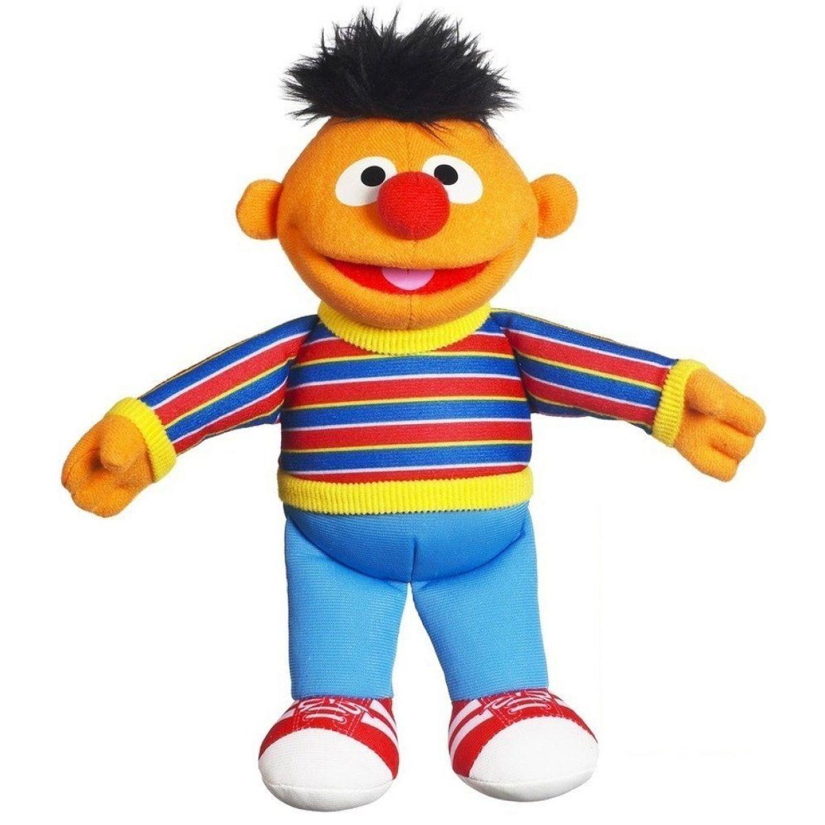 Playskool Sesame Street Plyšová postavička - Ernie 34129
