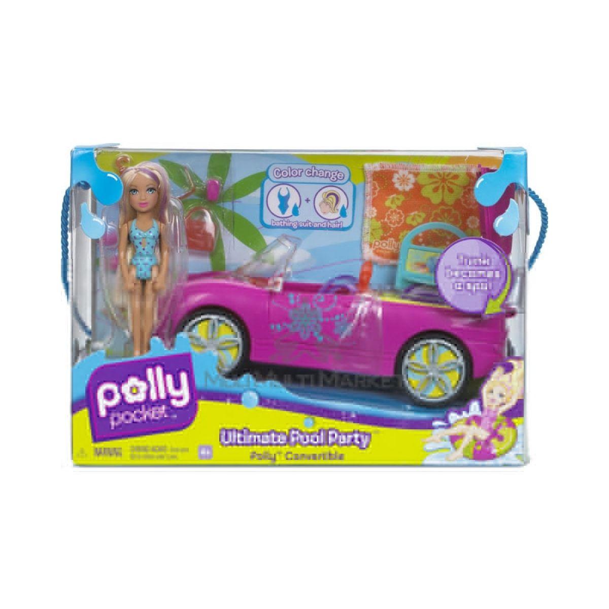 Plážové auto s panenkou