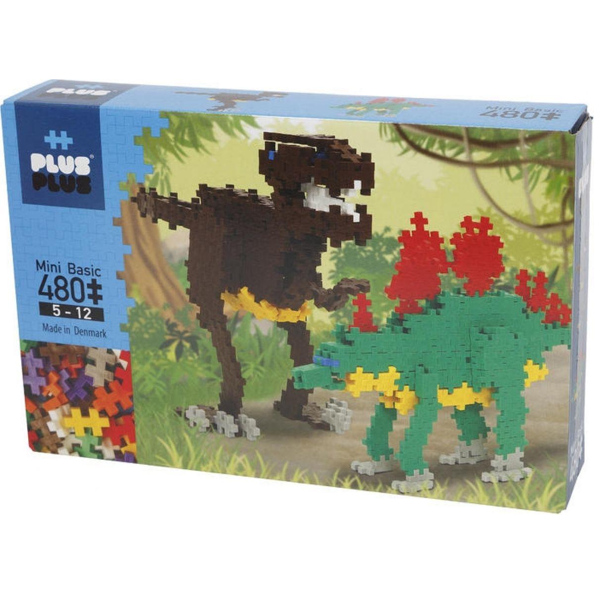 Plus Plus Mini Pastel 480 Dino