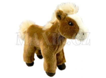 Plyšový Kůň 25cm - Béžová hříva