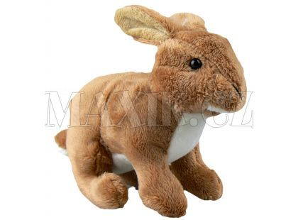 Plyšový králík 18cm - Hnědá