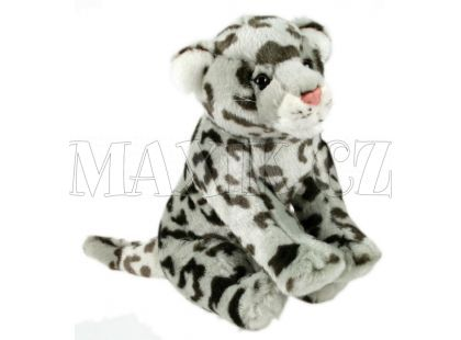 Plyšový leopard sněžný 30cm