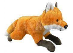 Plyšová liška běžící 21cm