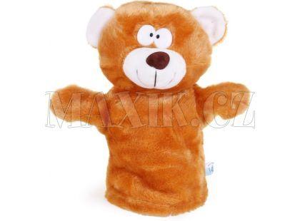 Plyšový maňásek Zvířátko - Medvídek