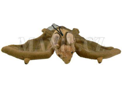 Plyšový netopýr s přísavkou 24cm - Hnědá světlá