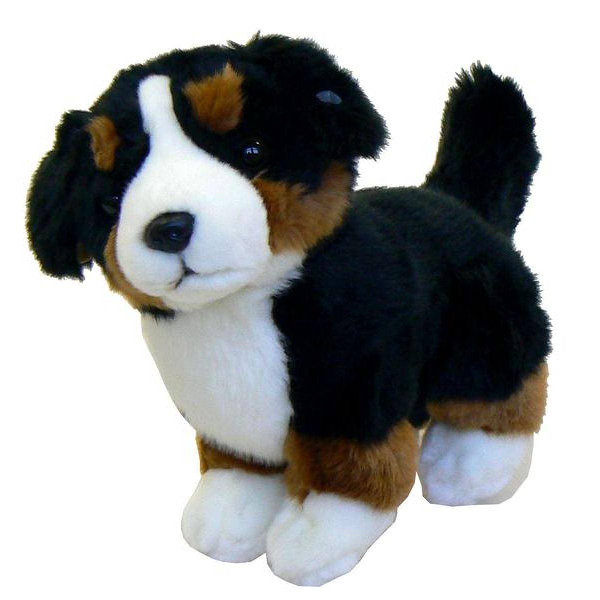 Plyšový pes bernský 30cm