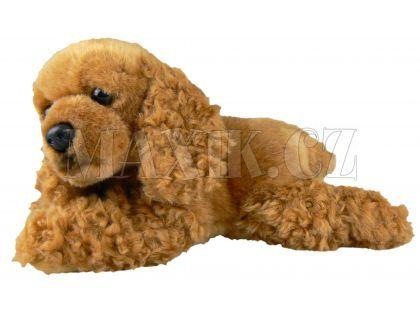 Plyšový pes kokršpaněl 23cm