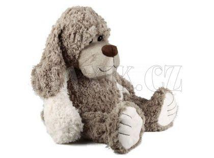 Plyšový pes sedící 35cm