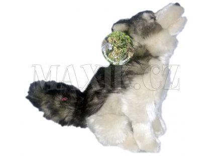 Plyšový pes vyjící 28cm