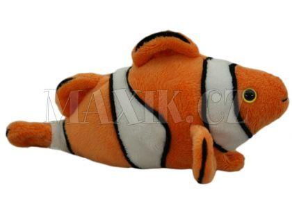 Plyšová ryba klaun 18cm