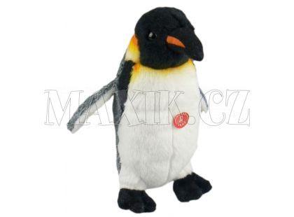 Plyšový tučňák se zvukem 17cm