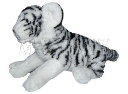Plyšový tygr bílý 32cm