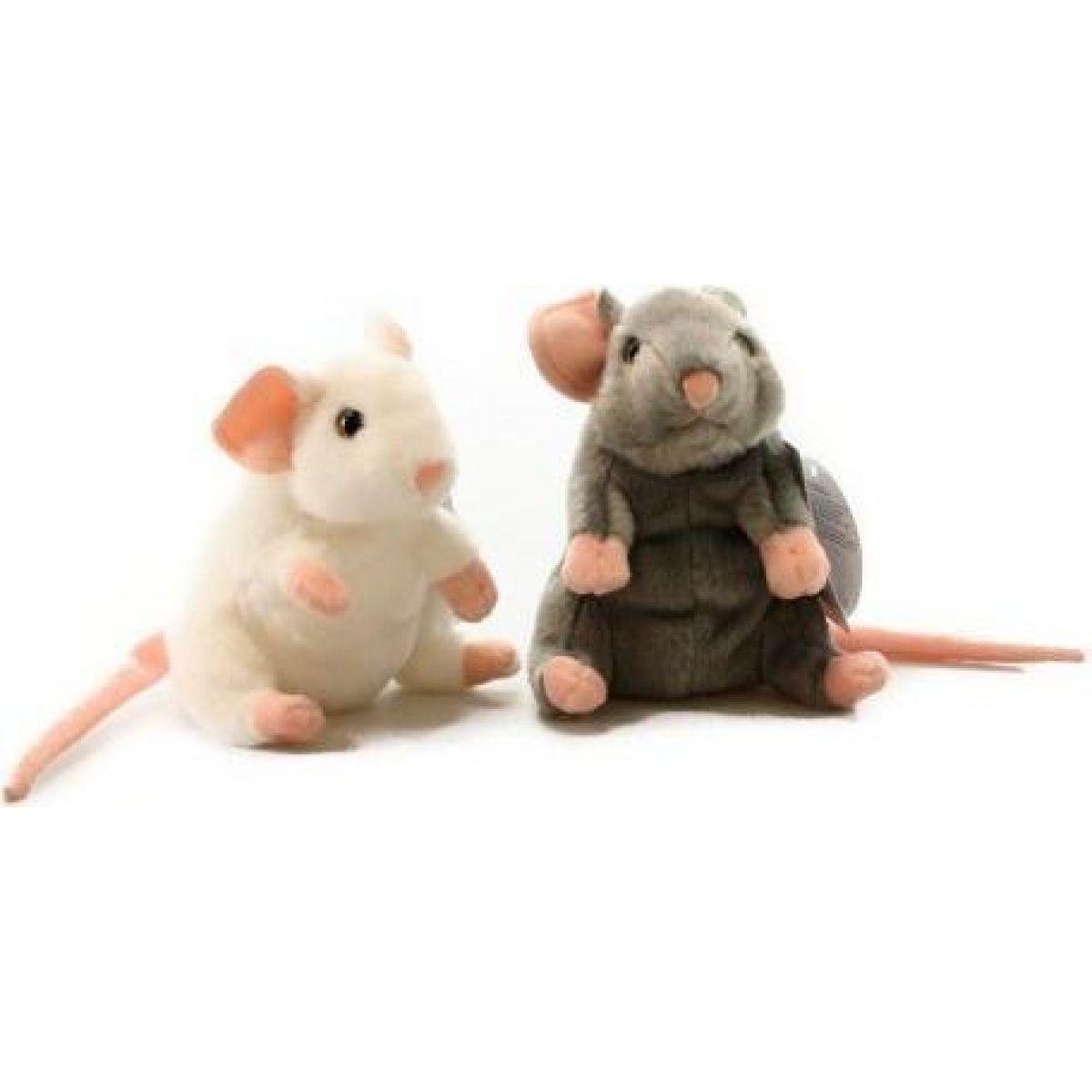 Plyš myška 15 cm